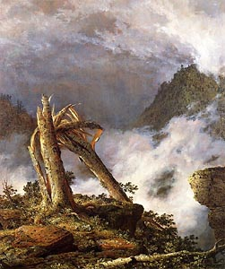 Storm in the Mountains by Frederic Edwin Church (1847)