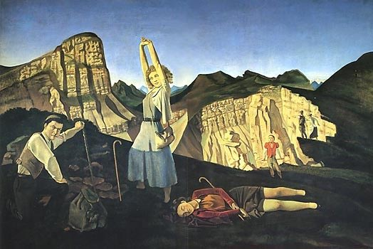 The Mountain (Summertime) by Balthus (1937)